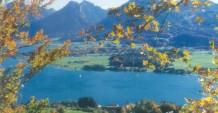 Der Wolfgangsee ist im Herbst ein echtes Laufparadies