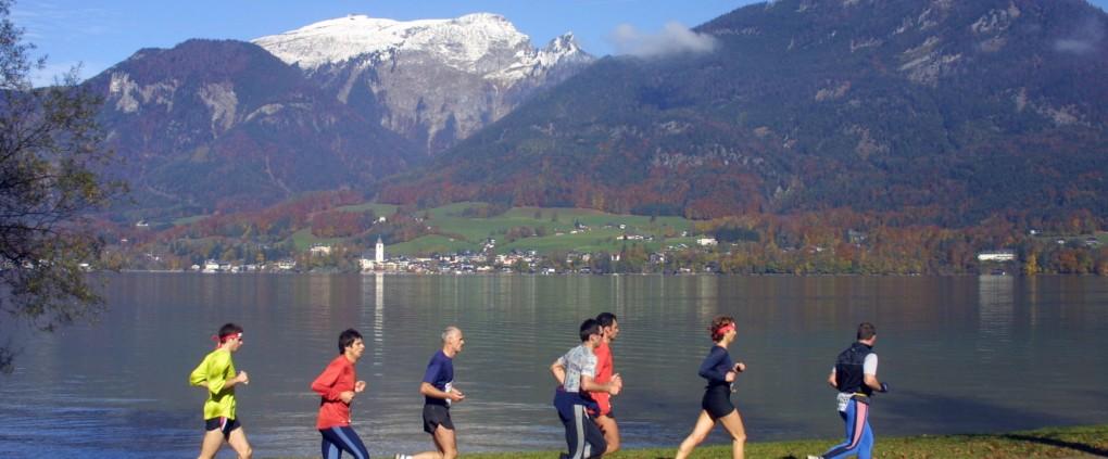 Der Streckenverlauf am See begeistert jeden