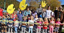 Wolfgangseelauf 2017  Den Anfang zum 46. Int Wolfgangseelauf  2017 machten die Kinder.  Am Samstag, 14. Oktober 2017 starteten bei Traumwetter über 330 laufbegeisterte  Kinder bei den Kinderläufen auf der Esplanade in Strobl.